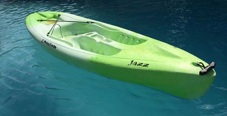 Mainstream Jazz Kayak 8.5 Foot - Destin Kayak Rentals